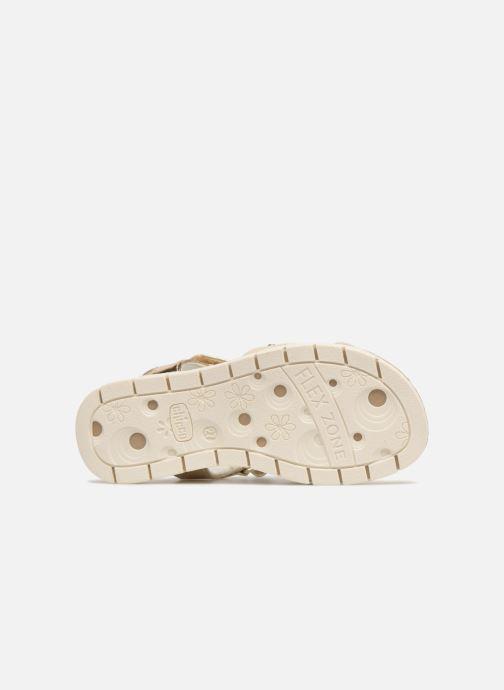 Sandales et nu-pieds Chicco Corinne Or et bronze vue haut