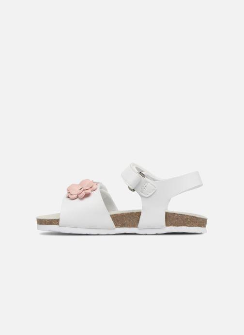 Sandales et nu-pieds Chicco Hamelia Blanc vue face