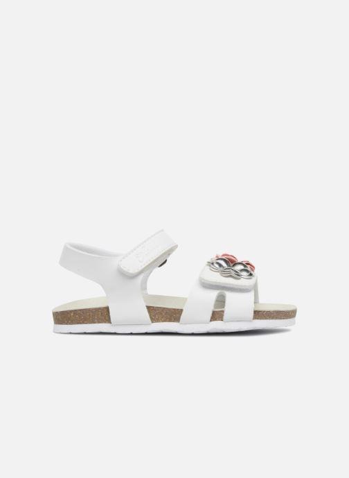 Sandales et nu-pieds Chicco Hamelia Blanc vue derrière