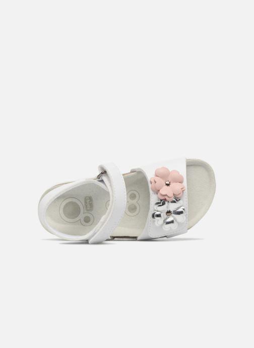 Sandales et nu-pieds Chicco Hamelia Blanc vue gauche