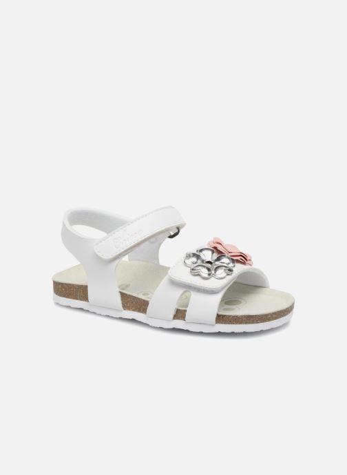 Sandales et nu-pieds Chicco Hamelia Blanc vue détail/paire