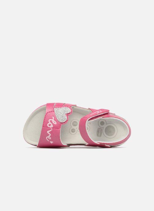 Sandales et nu-pieds Chicco Hella Rose vue gauche