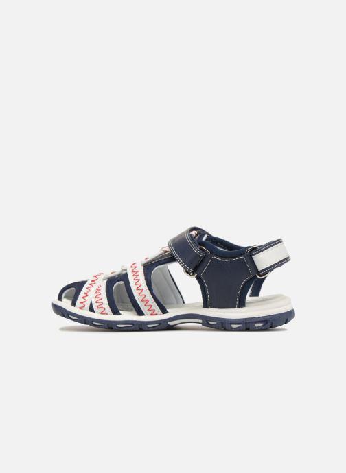 Sandali e scarpe aperte Chicco Calimero Azzurro immagine frontale