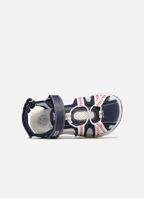 Sandales et nu-pieds Chicco Calimero Bleu vue gauche