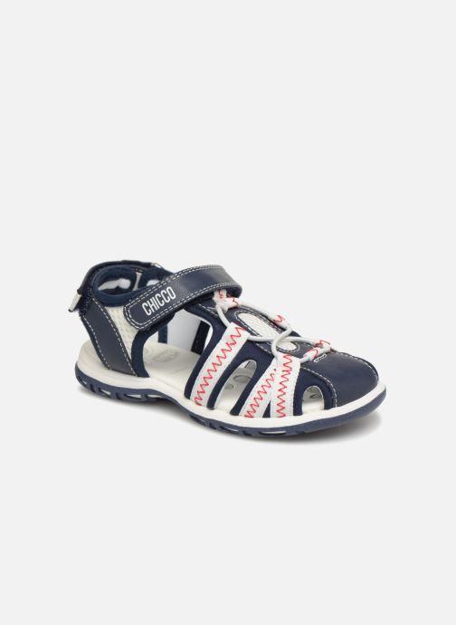 Sandales et nu-pieds Chicco Calimero Bleu vue détail/paire