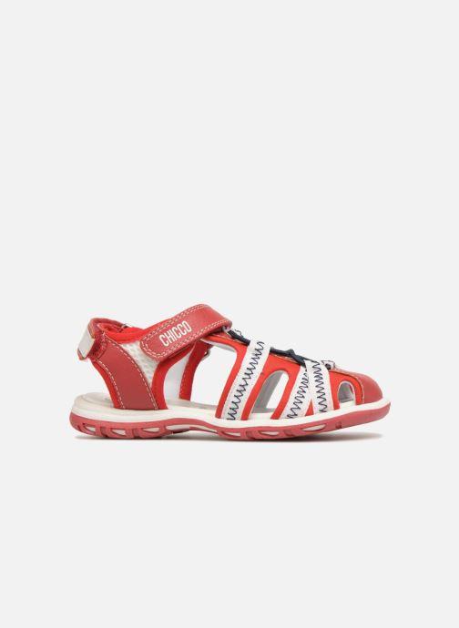 Sandales et nu-pieds Chicco Calimero Rouge vue derrière