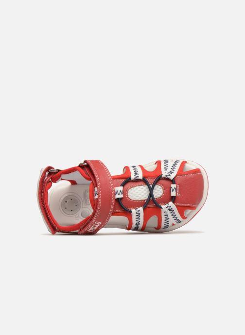 Sandales et nu-pieds Chicco Calimero Rouge vue gauche