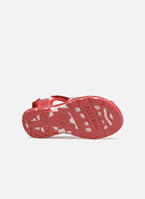 Sandales et nu-pieds Chicco Calimero Rouge vue haut