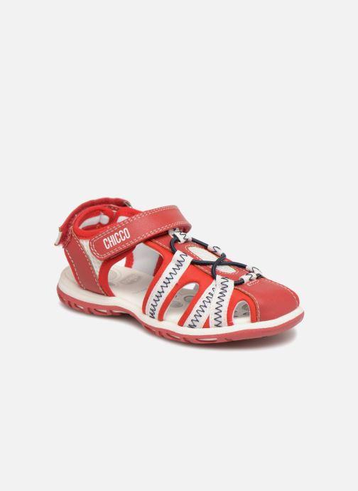 Sandales et nu-pieds Chicco Calimero Rouge vue détail/paire