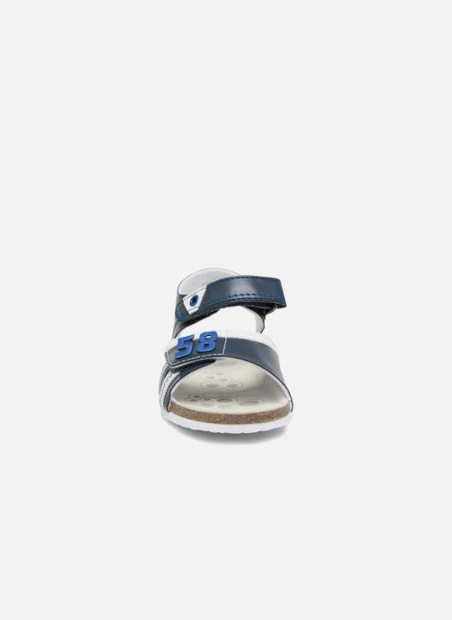 Sandali e scarpe aperte Chicco Hedo Azzurro modello indossato