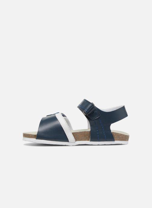 Sandalias Chicco Hedo Azul vista de frente