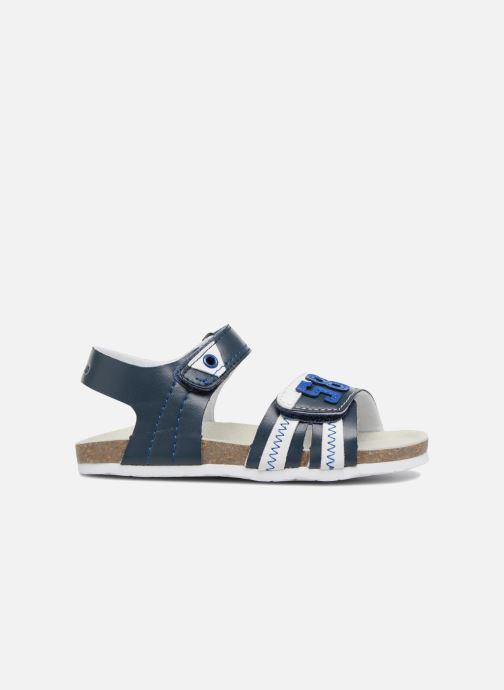 Sandalen Chicco Hedo blau ansicht von hinten