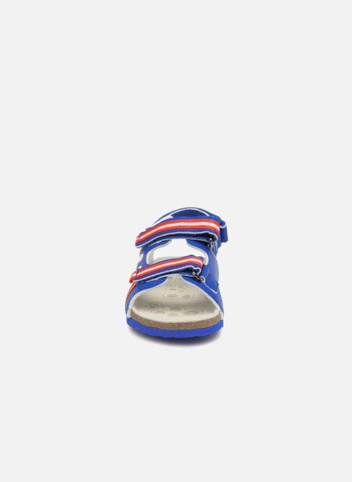 Sandales et nu-pieds Chicco Hettore Bleu vue portées chaussures