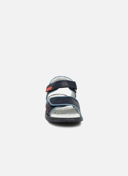 Sandali e scarpe aperte Chicco Cefalu Azzurro modello indossato