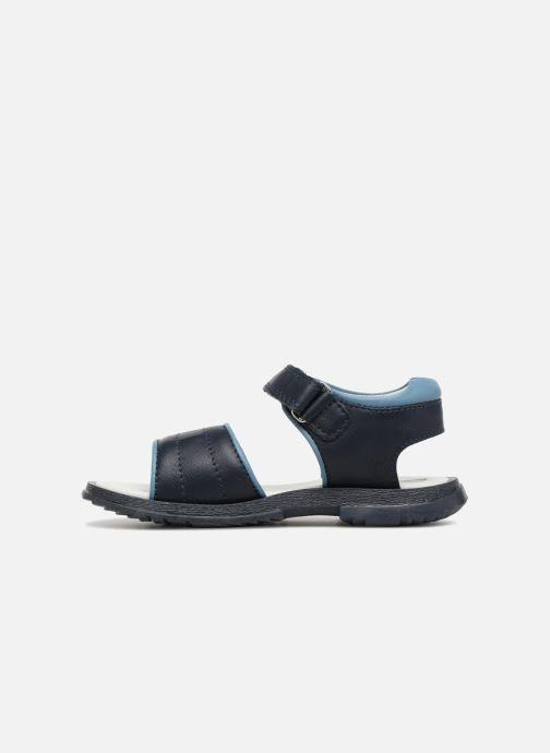 Sandales et nu-pieds Chicco Cefalu Bleu vue face
