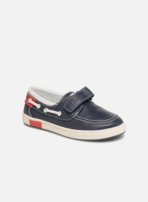 Chaussures à scratch Chicco Canapino Bleu vue détail/paire