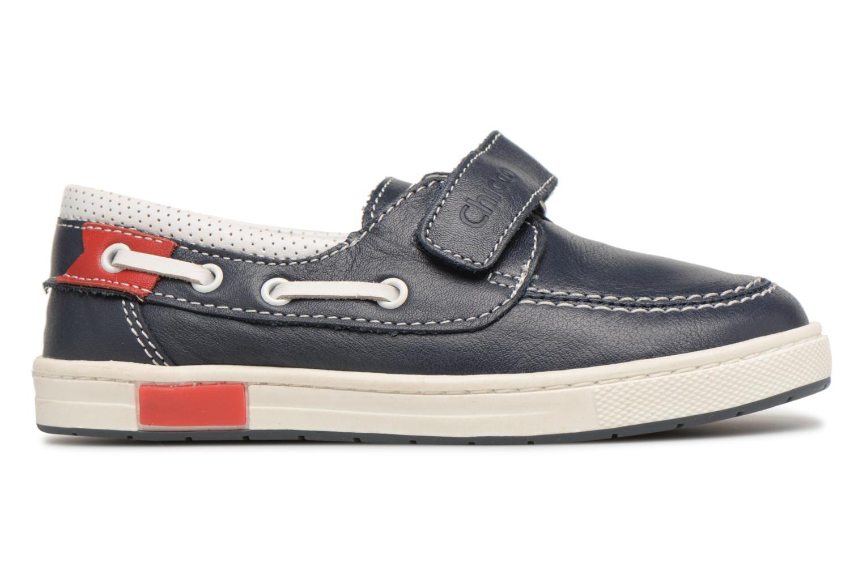 Chaussures à scratch Chicco Canapino Bleu vue derrière