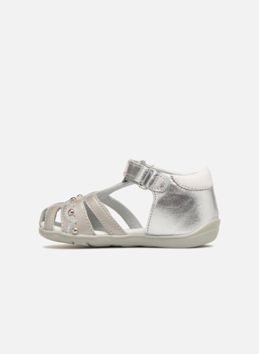 Sandales et nu-pieds Chicco Ginevra Argent vue face
