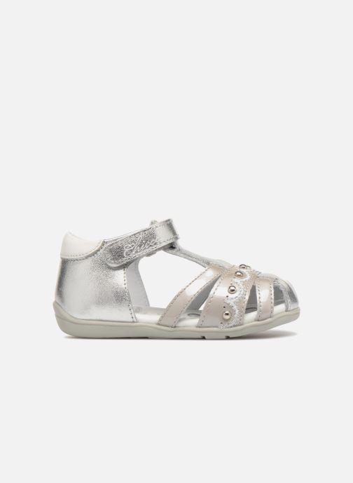 Sandales et nu-pieds Chicco Ginevra Argent vue derrière