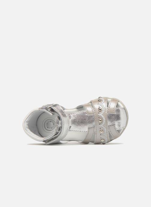 Sandales et nu-pieds Chicco Ginevra Argent vue gauche