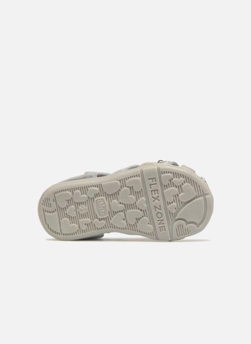 Sandales et nu-pieds Chicco Ginevra Argent vue haut