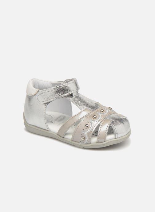 Sandales et nu-pieds Chicco Ginevra Argent vue détail/paire