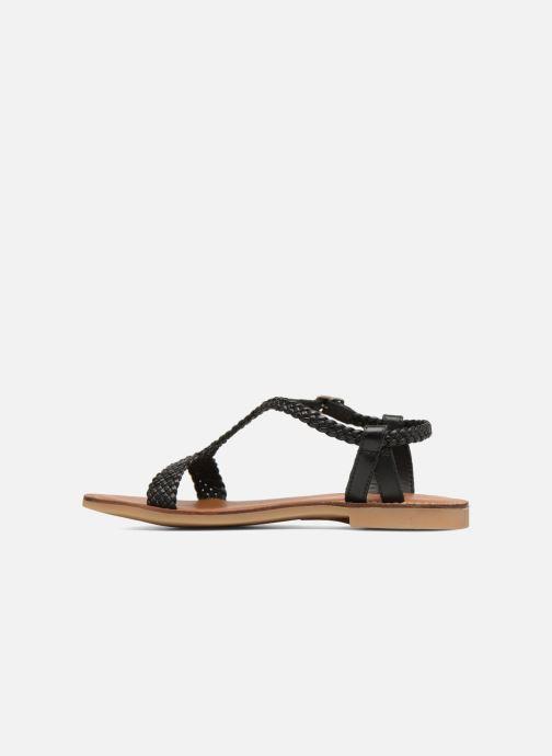 Sandales et nu-pieds Adolie Lazar Mimi Noir vue face