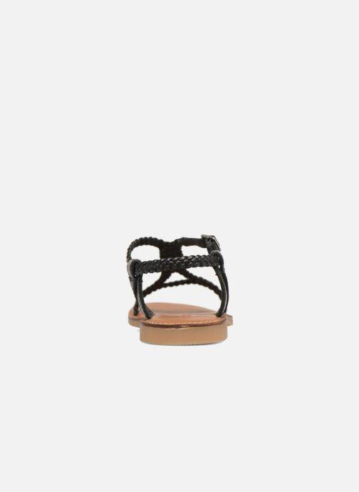 Sandales et nu-pieds Adolie Lazar Mimi Noir vue droite