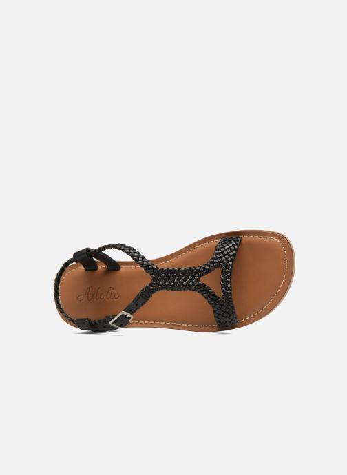 Sandales et nu-pieds Adolie Lazar Mimi Noir vue gauche
