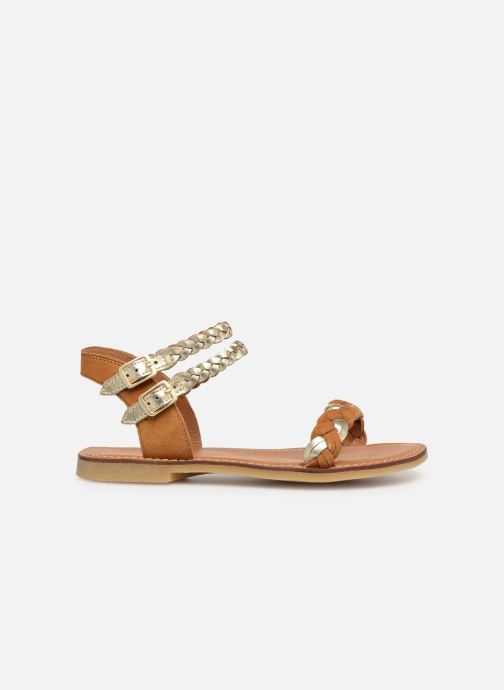 Sandals Adolie Lazar Wowo Brown back view