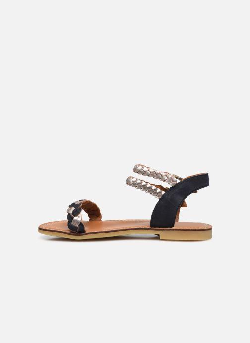 Sandali e scarpe aperte Adolie Lazar Wowo Azzurro immagine frontale