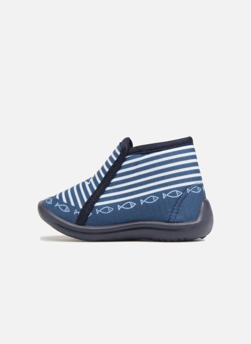 Chaussons Be Only Timousson Bleu vue face