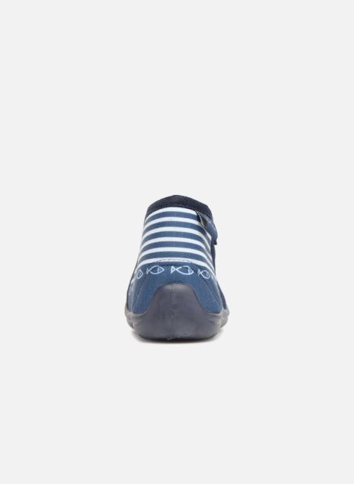 Chaussons Be Only Timousson Bleu vue droite