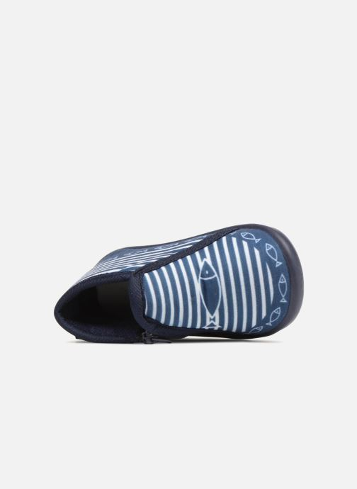 Chaussons Be Only Timousson Bleu vue gauche