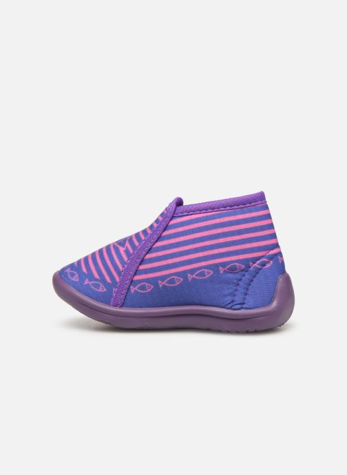 Chaussons Be Only Timousson Violet vue face