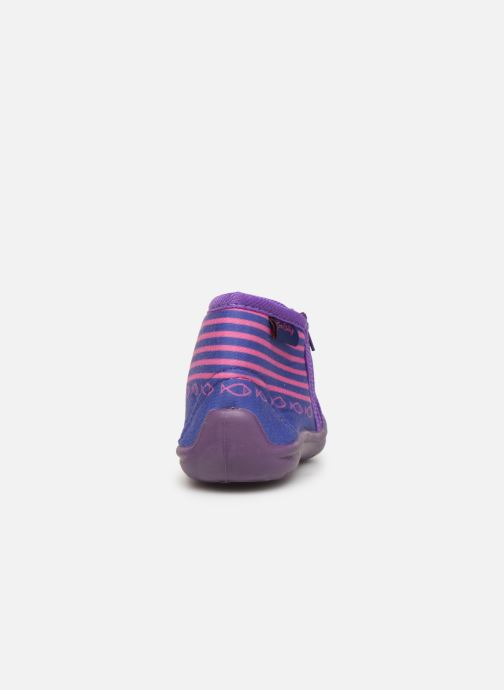 Slippers Be Only Timousson Purple view from the right