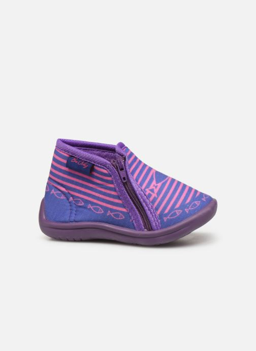 Slippers Be Only Timousson Purple back view
