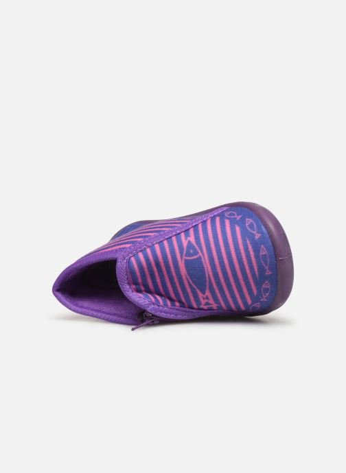 Chaussons Be Only Timousson Violet vue gauche