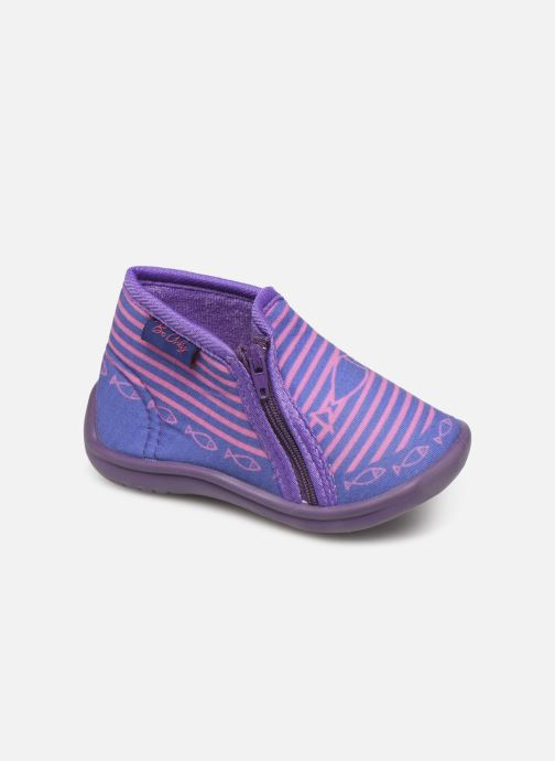 Chaussons Be Only Timousson Violet vue détail/paire
