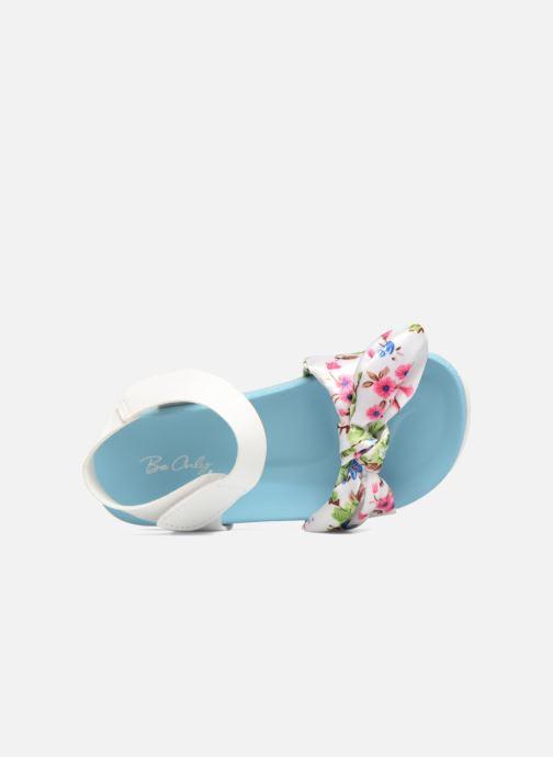 Sandales et nu-pieds Be Only Agathea Bleu vue gauche