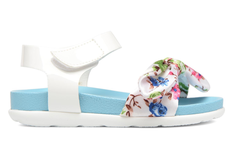 Sandales et nu-pieds Be Only Agathea Bleu vue derrière