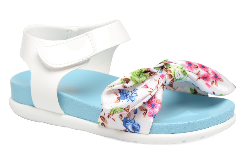 Sandales et nu-pieds Be Only Agathea Bleu vue détail/paire