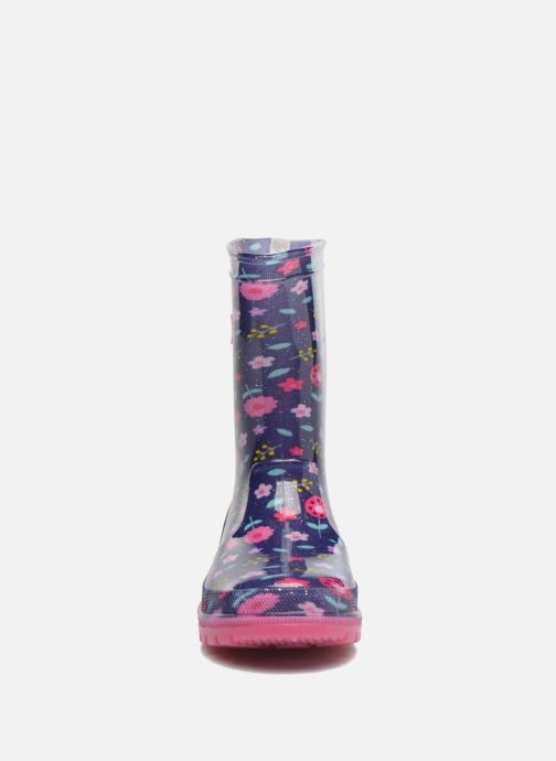 Bottes Be Only Lilas Glitters Flash Violet vue portées chaussures