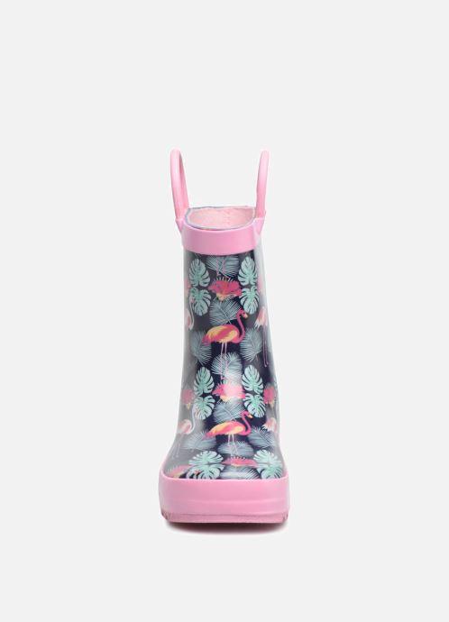 Bottes Be Only Tropico Bleu vue portées chaussures