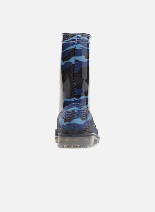 Boots & wellies Be Only Army Blue Flash Blue view from the right