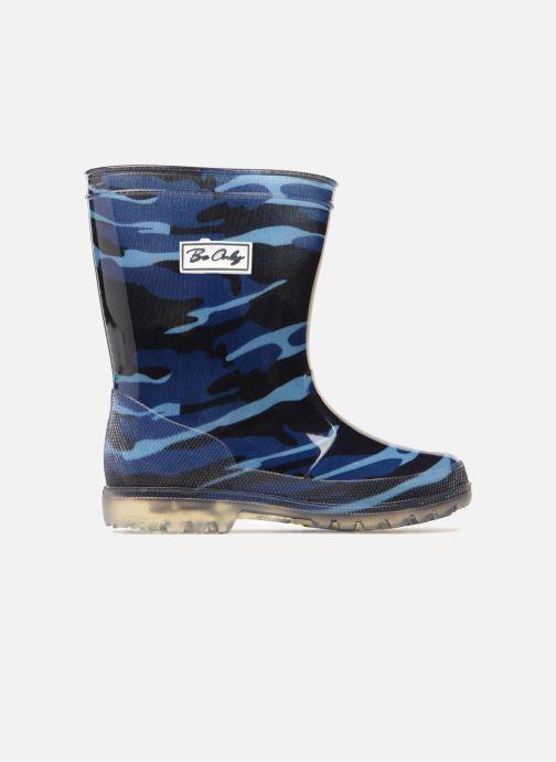 Botas Be only Army Blue Flash Azul vistra trasera