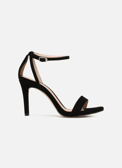 Sandales et nu-pieds Unisa Wax Noir vue derrière