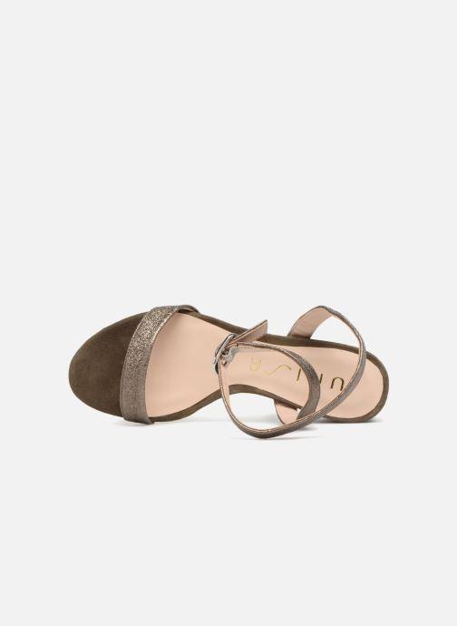 Sandales et nu-pieds Unisa Ordino Vert vue gauche