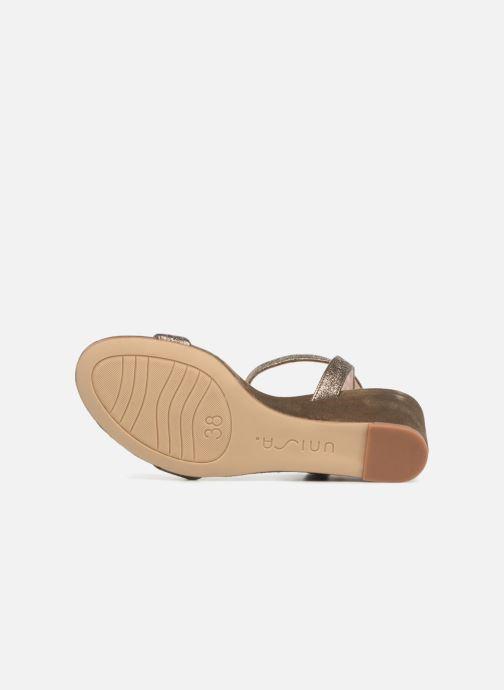 Sandales et nu-pieds Unisa Ordino Vert vue haut