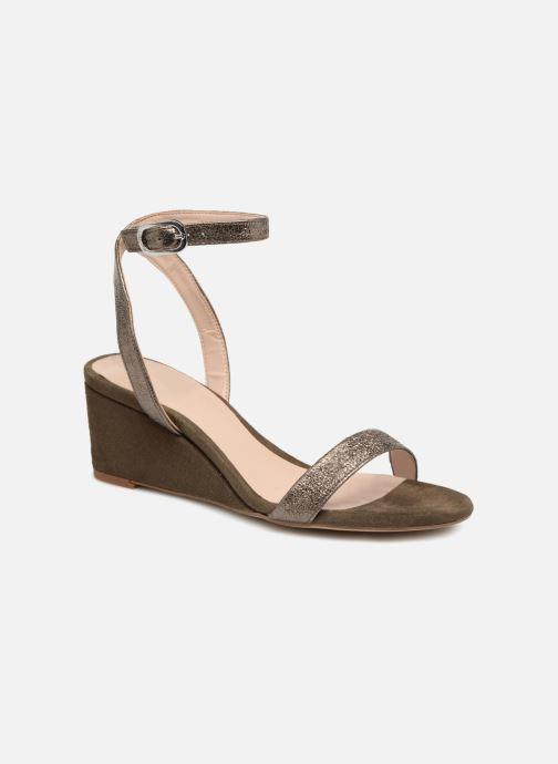 Sandales et nu-pieds Unisa Ordino Vert vue détail/paire